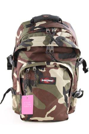 Eastpak Wandelrugzak khaki-bruin camouflageprint atletische stijl