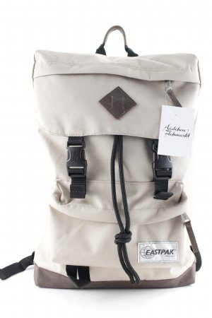 Eastpak Trekking Backpack beige Logo appliqué