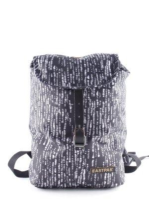Eastpak Sac à dos de randonnée noir-blanc motif abstrait style décontracté