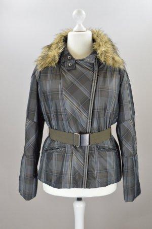 Easy Comfort Jacke mit Muster braun Größe 40