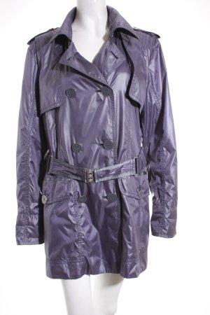 Easy Comfort Veste mi-saison gris lilas style décontracté