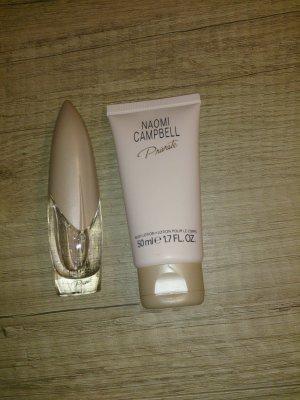 """Eau de toilette + Body lotion von Naomi Campbell """"Privat"""""""