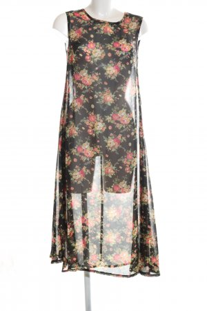 Ebony & Ivory A-Linien Kleid Allover-Druck Casual-Look