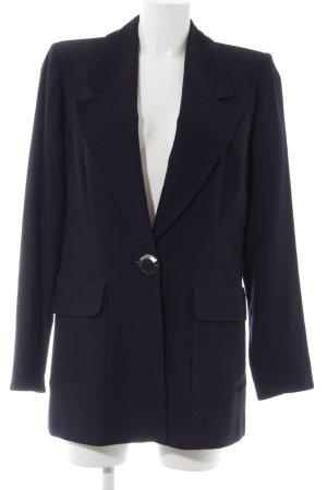 Ecaille Blazer largo azul oscuro estilo «business»
