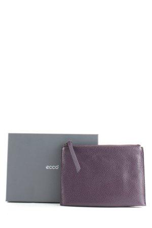 Ecco Clutch dunkelviolett klassischer Stil