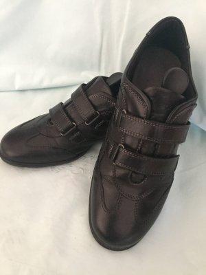 Ecco Damen Leder Sneaker - Gr. 38