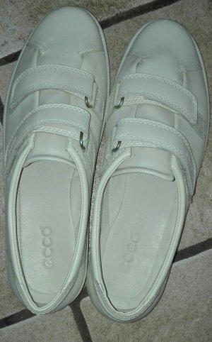 Ecco Sneaker con strappi crema