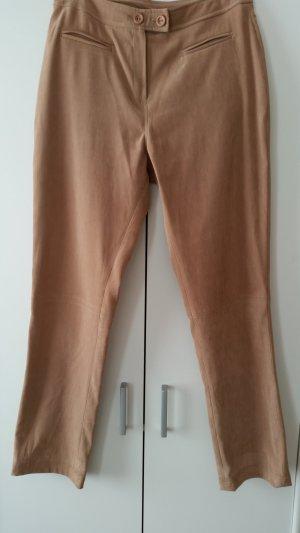 Ecco Pantalón elástico marrón arena