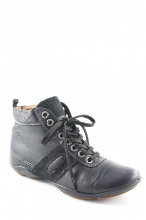 Ecco High Top Sneaker schwarz Casual-Look