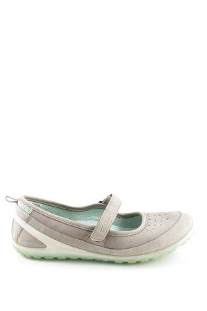 Ecco Sandalias cómodas color plata-gris claro look casual