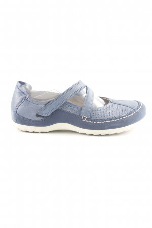 Ecco Komfort-Sandalen blau Casual-Look