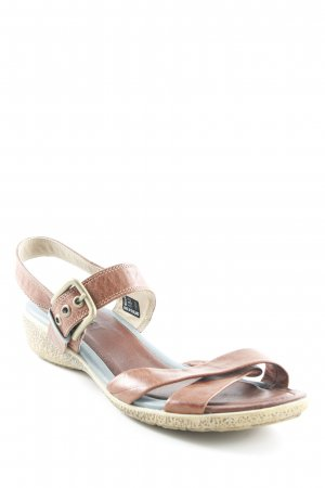 Ecco Comfort Sandals brown simple style