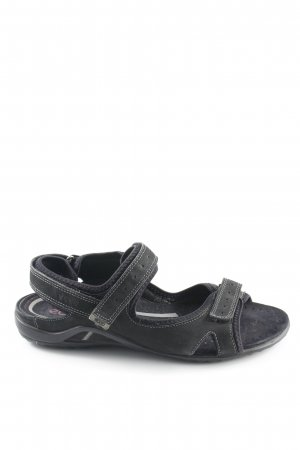 Ecco Comfortabele sandalen zwart casual uitstraling