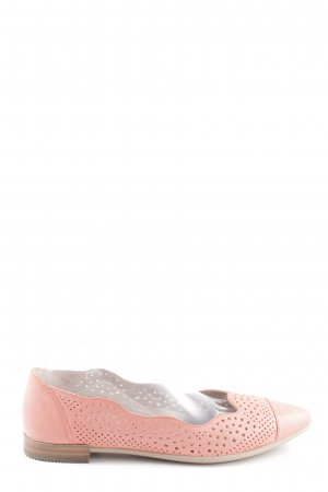 Ecco Lackballerinas pink Business-Look