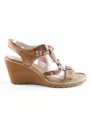 Ecco Outdoor-Sandalen braun Casual-Look