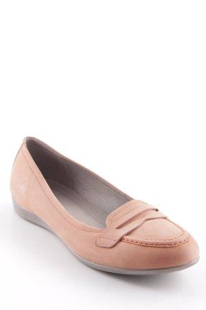 Ecco Scarpa slip-on rosa pallido stile casual