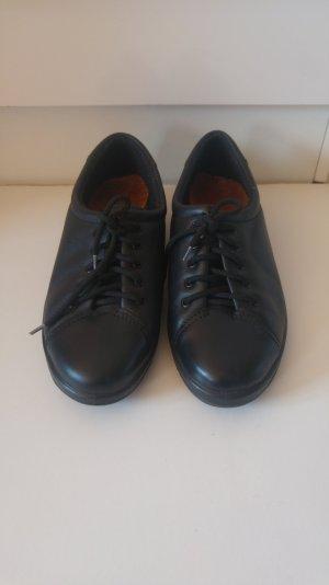 Ecco Schnürschuhe für Damen, neu, schwarz, Größe 40