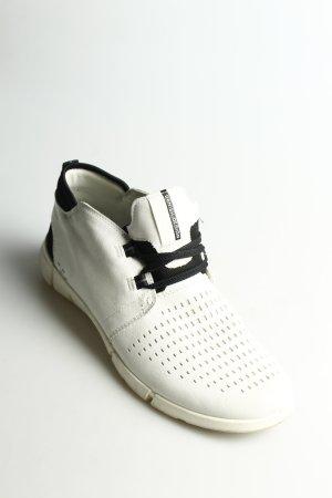 Ecco Schnürsneaker schwarz-hellbeige schlichter Stil