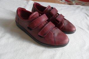 ECCO  Schuhe gr.41 Leder Bordo  Top.