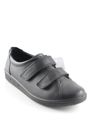 Ecco Sneaker Klettverschluss schwarz Casual-Look