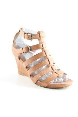 Ecco Wedges Sandaletten beige Casual-Look
