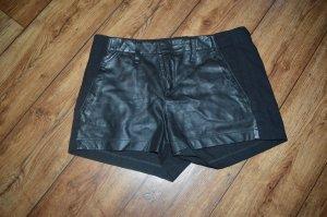 Echt coole Hot Pant schwarz Lamm-Leder Gr. 38 von rag & bone USA Top