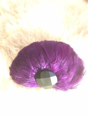 Echt Feder-Haarclip