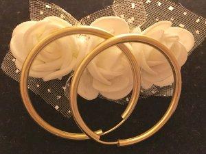 Echt Gold 333 Kreolen 3,7cm Durchmesser selten getragen daher wie neu