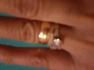 Echt Gold 585 Schöne Damen Ring