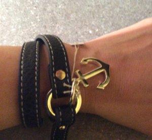 Echt Leder Armband Anker