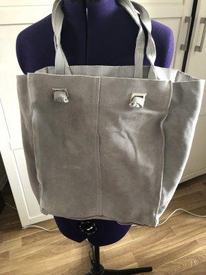 Zara Sac seau gris clair