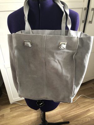 Zara Pouch Bag light grey