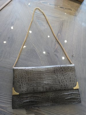 Clutch gold-colored-grey