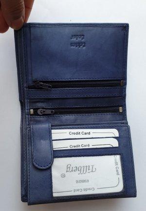 Wallet steel blue