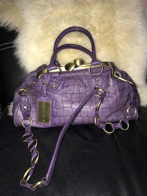 Echt Leder Handtasche neu