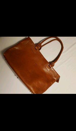 Echt Leder Handtasche von Valentina