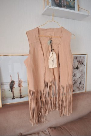 Circle of Trust Long Blazer rose-gold-coloured-nude