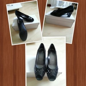 Peep Toe Pumps zwart