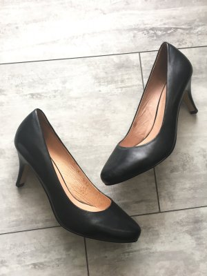 5th Avenue Tacones negro Cuero