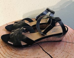 Arizona Strapped Sandals black leather