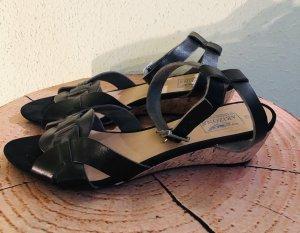 Arizona Sandales à lanière noir cuir