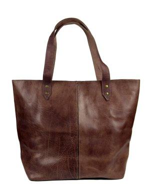 Echt Leder Shopper Tasche ~ NEU
