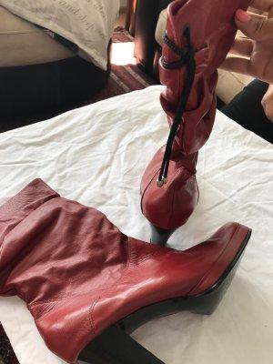 Echt Leder Stiefel aus Columbia