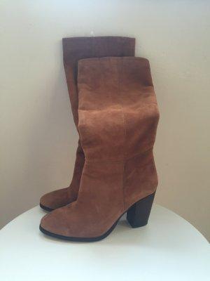 Echt Leder Stiefel Größe 37