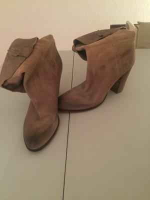 Echt Leder Stiefeletten von Vero Cuoio in Gr 40,5