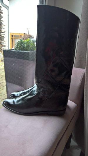 ECHT LEDER VISION Slouch Stiefel Gr 41