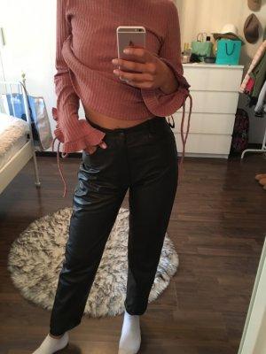 Pantalon «Baggy» brun foncé-brun noir