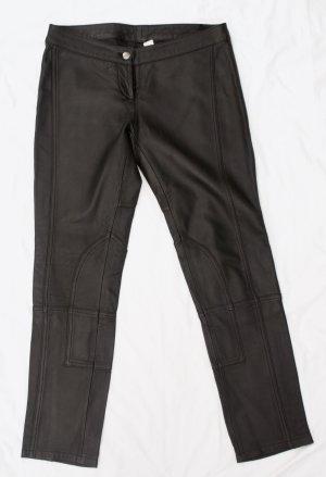 H&M Pantalone in pelle nero Pelle