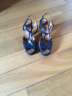 Echt lederne Vintage Sandalen