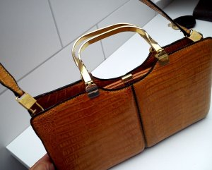 Carry Bag light brown leather